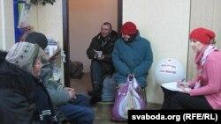 Супольны абед гарадзкіх бяздомных наТэльмана, 39