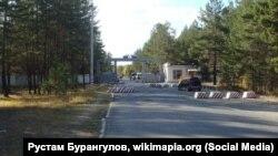Воинская часть в поселке Горный в Забайкалье.