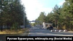 Воинская часть в поселке Горный в Забайкалье