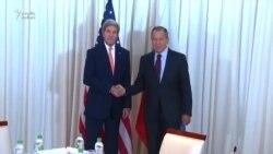 Kerry ilə Lavrov Suriyada əməkdaşlıq məsələsini müzakirə ediblər