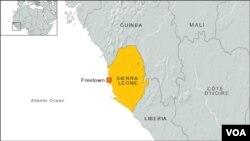 Harta e Sierra Leones