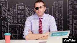 Алексей Навальный, оппозициялық саясаткер.