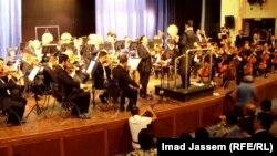 حفل موسيقي في المسرح الوطني ببغداد