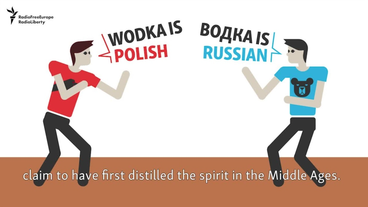 Who invented vodka 36