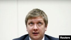 Andriy Kobolev, shef ekzekutiv i kompanisë ukrainase të gazit Naftogaz.