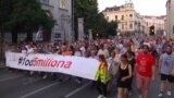 Belgrade Protest No. 28 Targets Finance Minister's Doctoral Degree