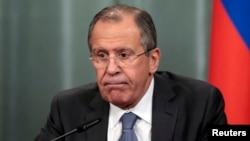 Міністр закордонних справ Росію Сергій Лавров