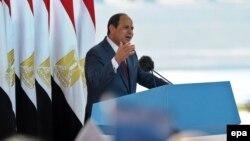 Египет президенті Әбдел Фаттах әс-Сиси.