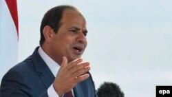 Президент Египта Абдель Фаттах аль-Сиси.