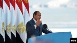 Египет президенті Абдел Фаттах әл-Сиси.