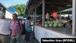 La piața din Orhei