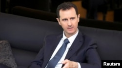 """Moscow's strategy has been very clear: to insist that the government of Bashar al-Assad (pictured) is a natural and key player in the """"fight against terror."""""""