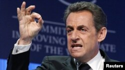 French President Nicolas Sarkozy pays a quick visit to Turkey today.