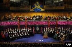 Nobel Mükafatının təqdimatı mərasimi