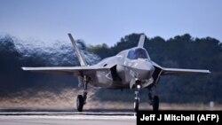 F-35B Корпуса морской пехоты США на базе в Южной Каролине
