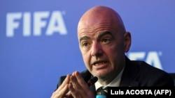 Ҷанни Инфантино, президенти ФИФА.