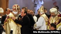الرئيس السيسي يهنىء البابا تواضروس الثاني