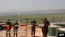 سربازان سازمان ملل در دهکده قجر