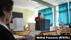Glasanje na izborima u BiH - ilustracija