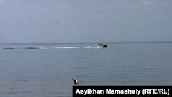Прибрежная зона Каспийского моря. Мангистауская область, 2 августа 2014 года. Иллюстративное фото.
