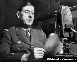 Шарль дэ Голь, 1940 год