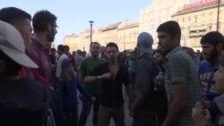 Hiljade izbeglica na stanici u Budimpešti