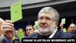 Ukrainian billionaire Ihor Kolomoyskiy, owner of Dnipro Dnipropetrovsk