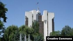 Clădirea prezidențială de la Chișinău.