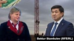 Наталья Черногубова жана Мухаммедкалый Абылгазиев. Коллаж.