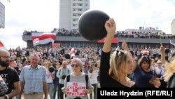Белорусија- протести против актуелниот претседател Александар Лукашенко, 15.08.2020