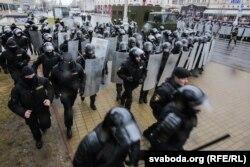 Разгон акции протеста 25 марта 2017 года в Минске