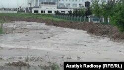 Последствие дождей в Ашхабаде