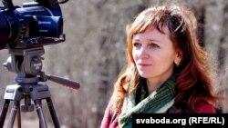 Ларыса Шчыракова, журналістка. Архіўнае фота
