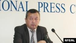 Манана Костанованың адвокаты Асылболат Какимов. Алматы, 21 қазан, 2008 жыл.