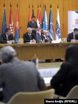Sa konferencije o rješavanju izbjegličkih pitanja, Beograd, 7. novembar 2011
