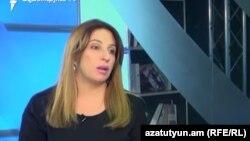 Лидер партии «Еркир цирани» и одноименной фракции в Совете старейшин Еревана Заруи Постанджян