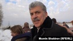 Pavel Grudinin bi mogao biti drugi po broju glasova