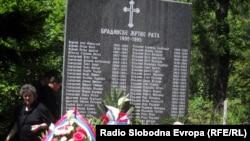 Spomen-obilježje u Bradini, fotografije uz tekst: Mirsada Ćosić