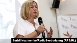 Ирина Геращенко, первый вице-спикер Верховной Рады Украины