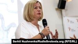 Ирина Геращенко, Украина Жоғарғы Радасының депутаты.