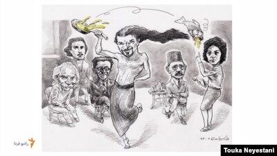 شاهرخ مشکینقلم و مهمانانش/ کاری از توکا نیستانی