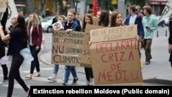 "Protest la Chișinău"" Extinction rebellion"", 30 mai 2019"