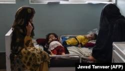 یک شفاخانه درمان کودکان مبتلا به سوء تغذیه در کندهار