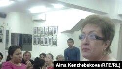 Гульнара Мамиева, арендатор столовой при одной из школ в Алматы. 11 июня 2015 года.