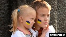 Діти під час відзначення Дня Незалежності України (архівне фото)