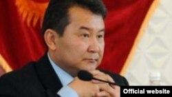 Орзубек Бурханов, раиси пешини вилояти Бодканди Қирғизистон.
