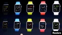 Тим Кук на презентации Apple Watch
