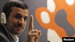 Eýranyň prezidenti M.Ahmadinejad, Nýu Ýork, 24-nji sentýabr, 2012.