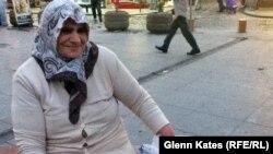 Қала тұрғыны Ремзи Кибар. Стамбул, 5 маусым 2013 жыл.