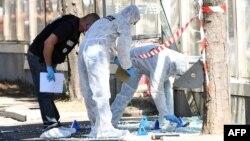 Поліція Франції працює на місці інциденту в Марселі, 21 серпня 2017 року
